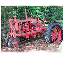 The Old Farmall Poster