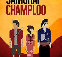 Pixel Art - Samurai Champloo by kevinbrokeit