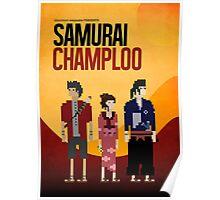 Pixel Art - Samurai Champloo Poster