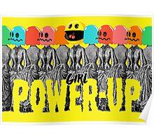 Girl Power-Up Poster