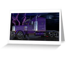 Thunder Rolls Greeting Card