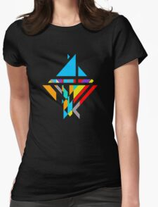 Temple Kite 2 Womens Fitted T-Shirt