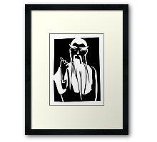 Pai Mei Kill Bill Framed Print