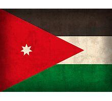 Jordan Flag Photographic Print