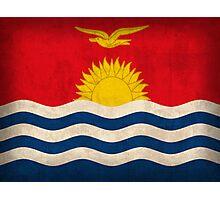 Kiribati Flag Photographic Print