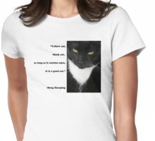 """Yellow Cat, Black Cat..."" Quote by Deng Xiaoping Womens Fitted T-Shirt"