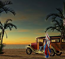 Woody Beach by DYoungDigital