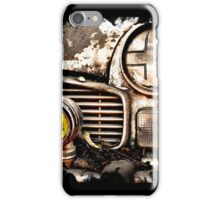 Vintage Abandoned Cars Abstract  iPhone Case/Skin