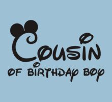 Cousin of birthday boy with Mickey ears by sweetsisters