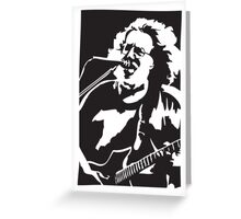 Jerry Garcia The Grateful Dead Greeting Card