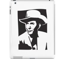 Hank Williams iPad Case/Skin