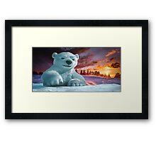 Grin and Bear It Framed Print