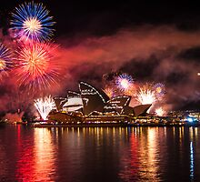 Fleet Review Fireworks by CarleyBeth