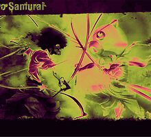 kick ass afro samurai by The13Cosmos