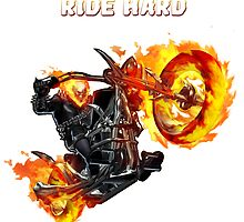 Ghost Rider Ride Hard by Timanator3000