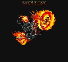 Ghost Rider Ride Hard Unisex T-Shirt