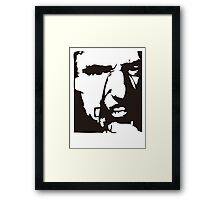 Dennis Hopper Blue Velvet Framed Print