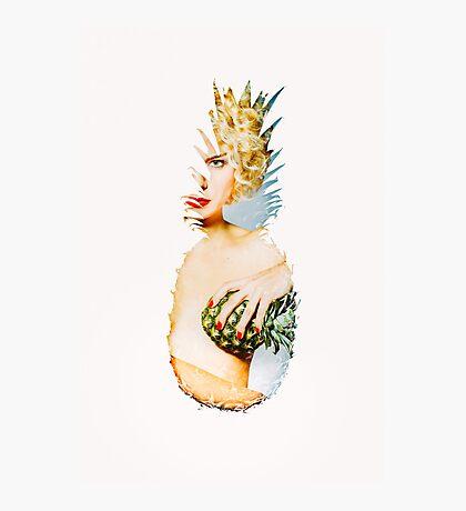 Pineapple Love 3 Photographic Print