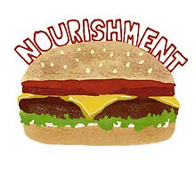Nourishment Burger by bobknarwhal