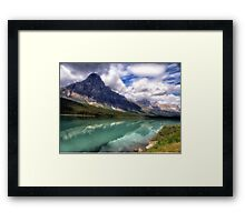 Lake Peyto -Jasper National Park Framed Print