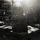 Back Garden Buddha  by Nigel Bangert