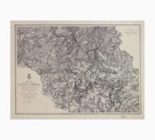 Civil War Maps 1107 Maps illustrating the military operations of the Atlanta campaign 1864 05 Kids Tee