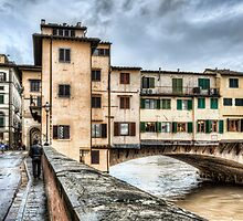 The Ponte Vecchio, Northeast Corner (Florence) by Marc Garrido Clotet