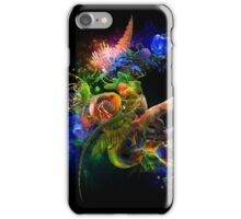 Parrot Abstract iPhone Case/Skin