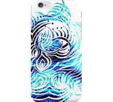 white vs blue 2 iPhone Case/Skin