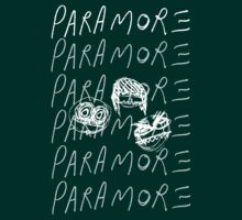Cartoon Paramore (white) by SerjKazter