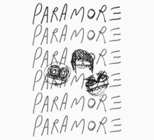 Cartoon Paramore (black) by SerjKazter