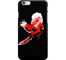 Painted Cardinal Design iPhone Case/Skin