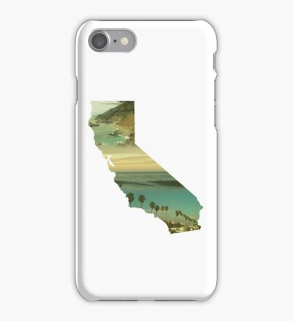 California Collage iPhone Case/Skin