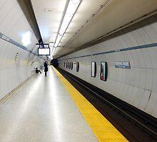 Toronto Subway Platform by Valentino Visentini