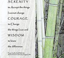 Serenity Prayer Bamboo 2 by serenitygifts