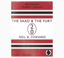 The Saad & The Fury Book Cover Baby Tee
