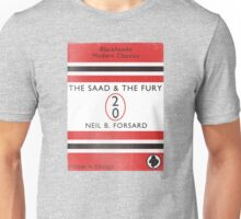 The Saad & The Fury Book Cover Unisex T-Shirt
