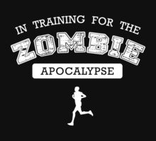 The Walking Dead - In Training for the Zombie Apocalypse by 3coo