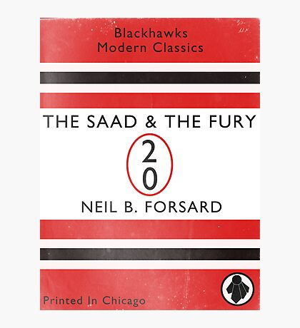 The Saad & The Fury Book Cover Photographic Print