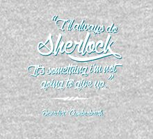 Benedict Cumberbatch Quote Womens Fitted T-Shirt