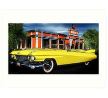 59 Cadillac Eldorado Biarritz Art Print