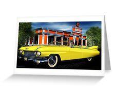 59 Cadillac Eldorado Biarritz Greeting Card