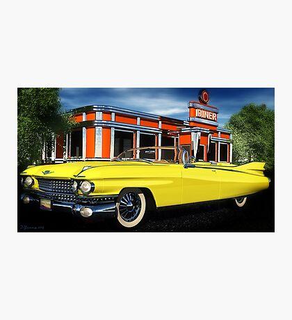 59 Cadillac Eldorado Biarritz Photographic Print