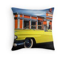59 Cadillac Eldorado Biarritz Throw Pillow