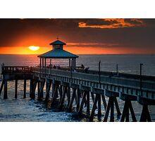 Sunset Fishing Photographic Print
