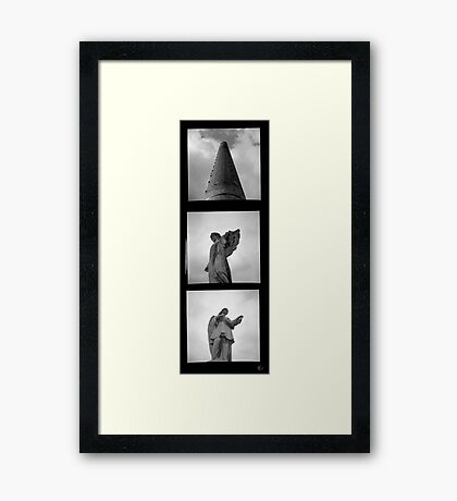 The Price of Progress Framed Print