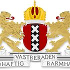Amsterdam Coat of Arms  by abbeyz71
