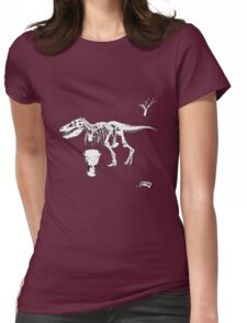 T-Rex Djembe Womens Fitted T-Shirt