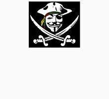 Rasta Anonymous Flag Unisex T-Shirt