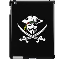Rasta Anonymous Flag iPad Case/Skin